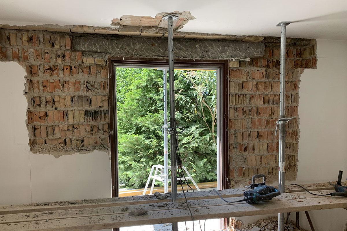 Ház- és lakásfelújítás referencia munka