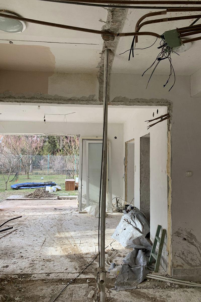 Ház- lakásfelújítás referencia munka